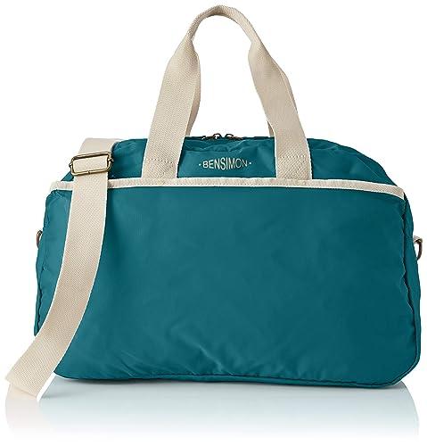 bfe710dc4a Bensimon femme Sport Bag Sac bandouliere Bleu (BLEU PETROLE): Amazon ...