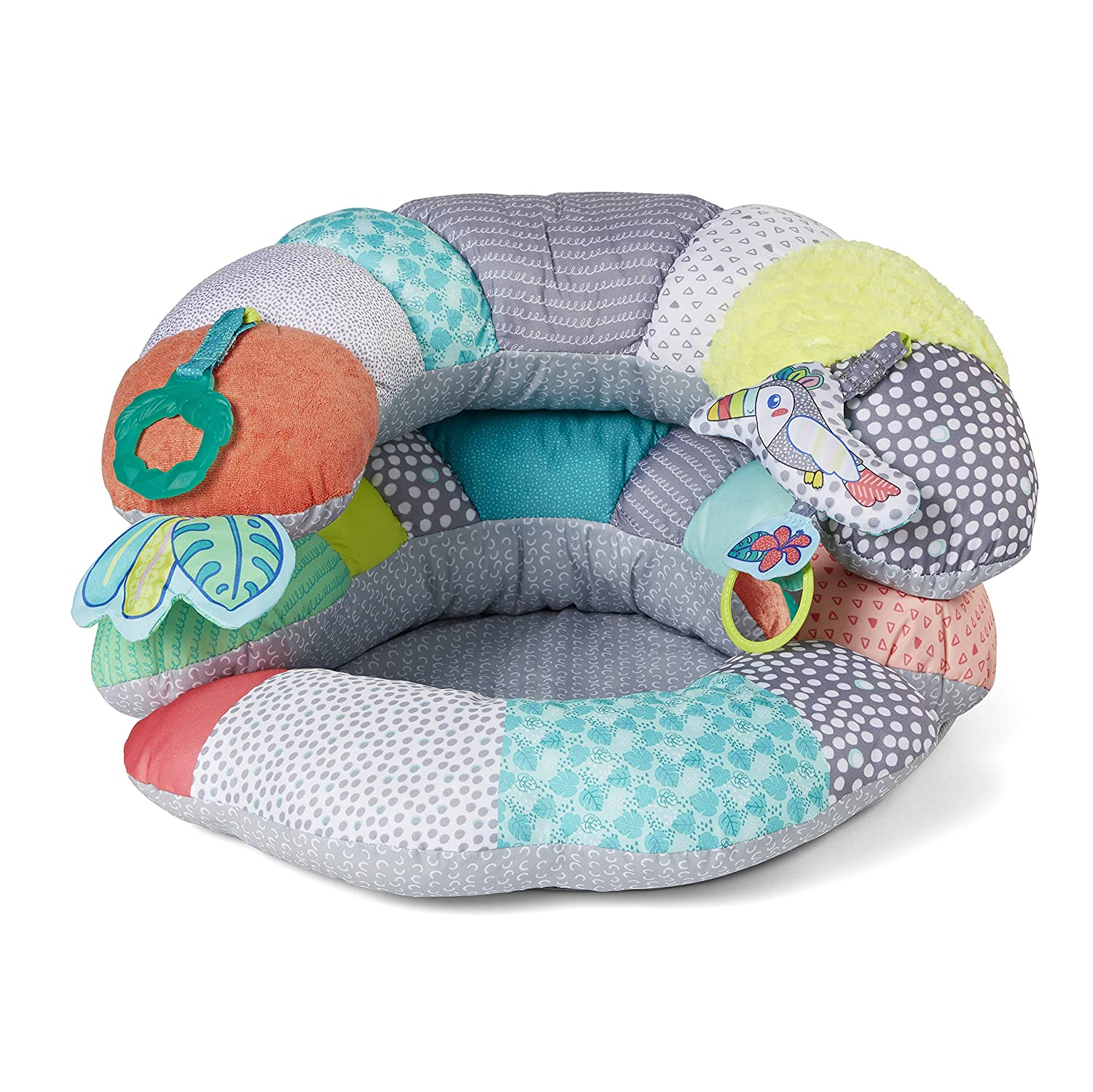 Infantino 2-in-1 Tummy Time & Seated Support, Multi