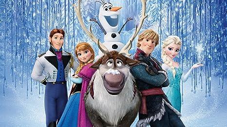 Amazon.com: Frozen Anna Elsa Olaf Hans Kristoff Raindeer ...