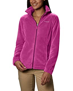 15b694c8a96 Columbia Women s Plus-Size Benton Springs Full-Zip Fleece Jacket at ...