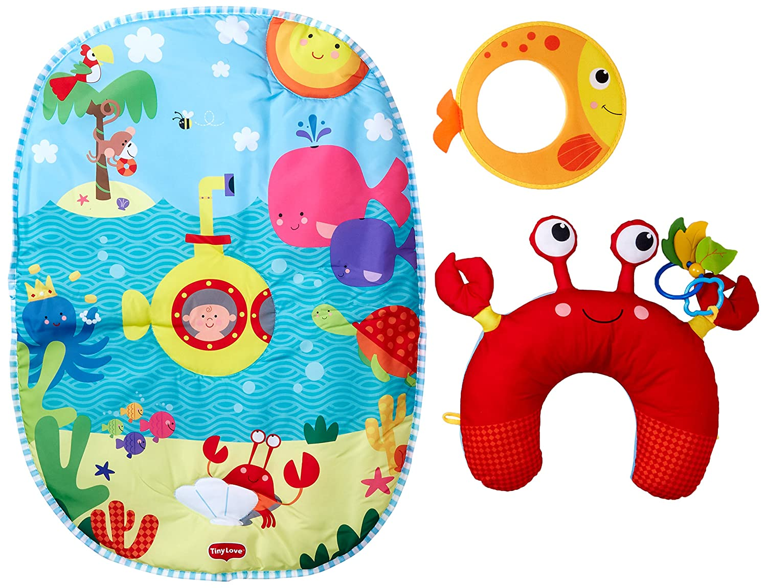 Tiny Love Tummy Time Under The Sea Playmat 33312036