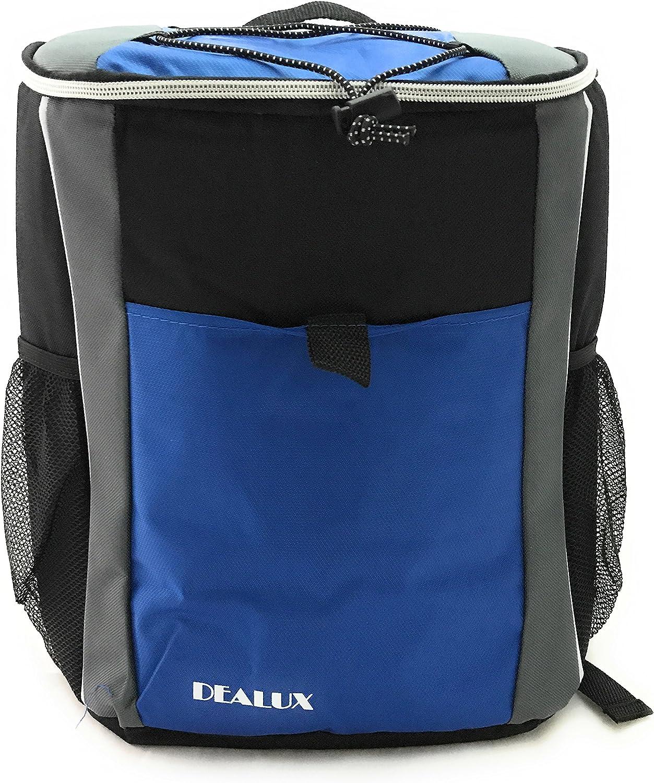 Dealux - Mochila térmica (19 L), color azul