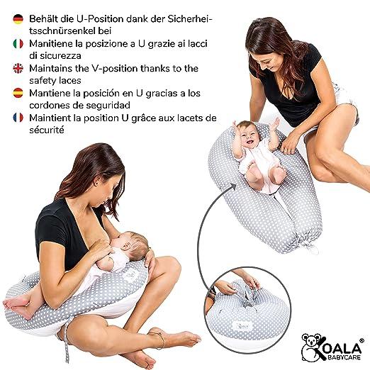 Koala Babycare® Almohada para Embarazadas para Dormir Cojin Lactancia –Soporte del Cuerpo de la Mama y del bebé – para Bebe Que Puede ser Utilizado ...