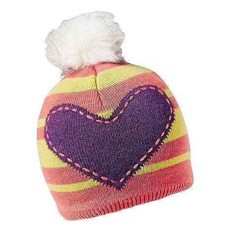 7eef0d3e9c8 Amazon.com  Turtle Fur Winnie Girl s Pom Fleece Lined Heart Winter ...