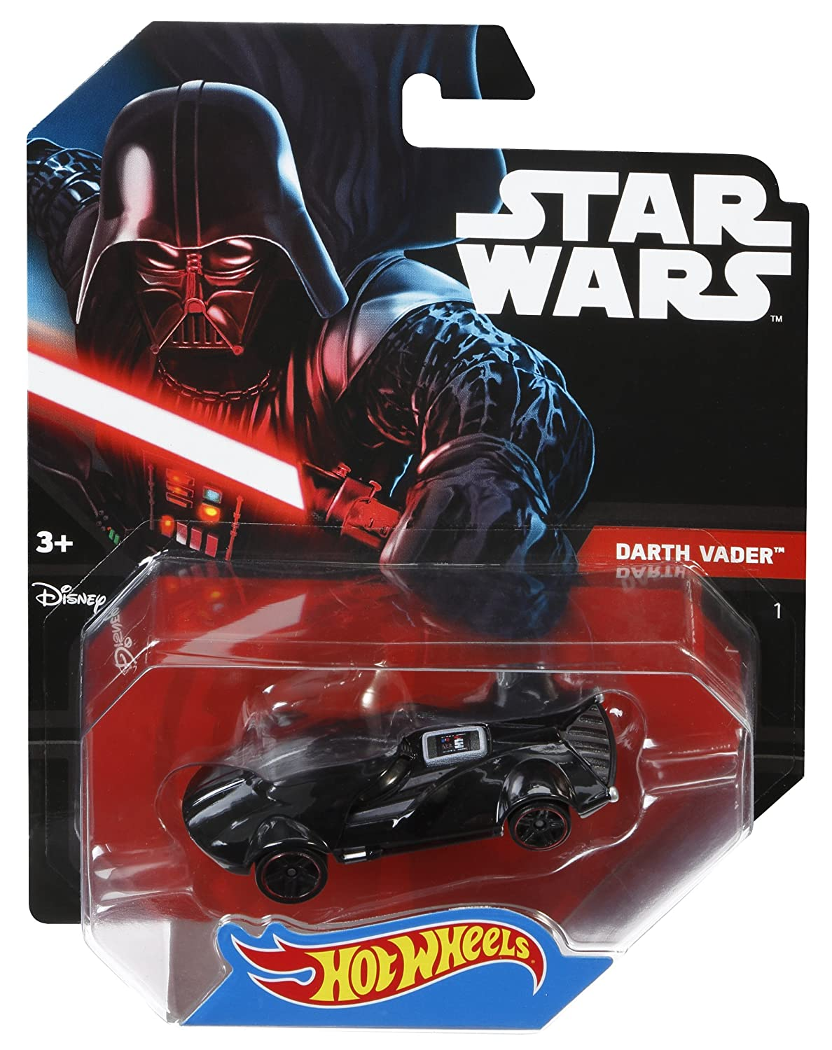amazon com wheels star wars character car darth vader toys