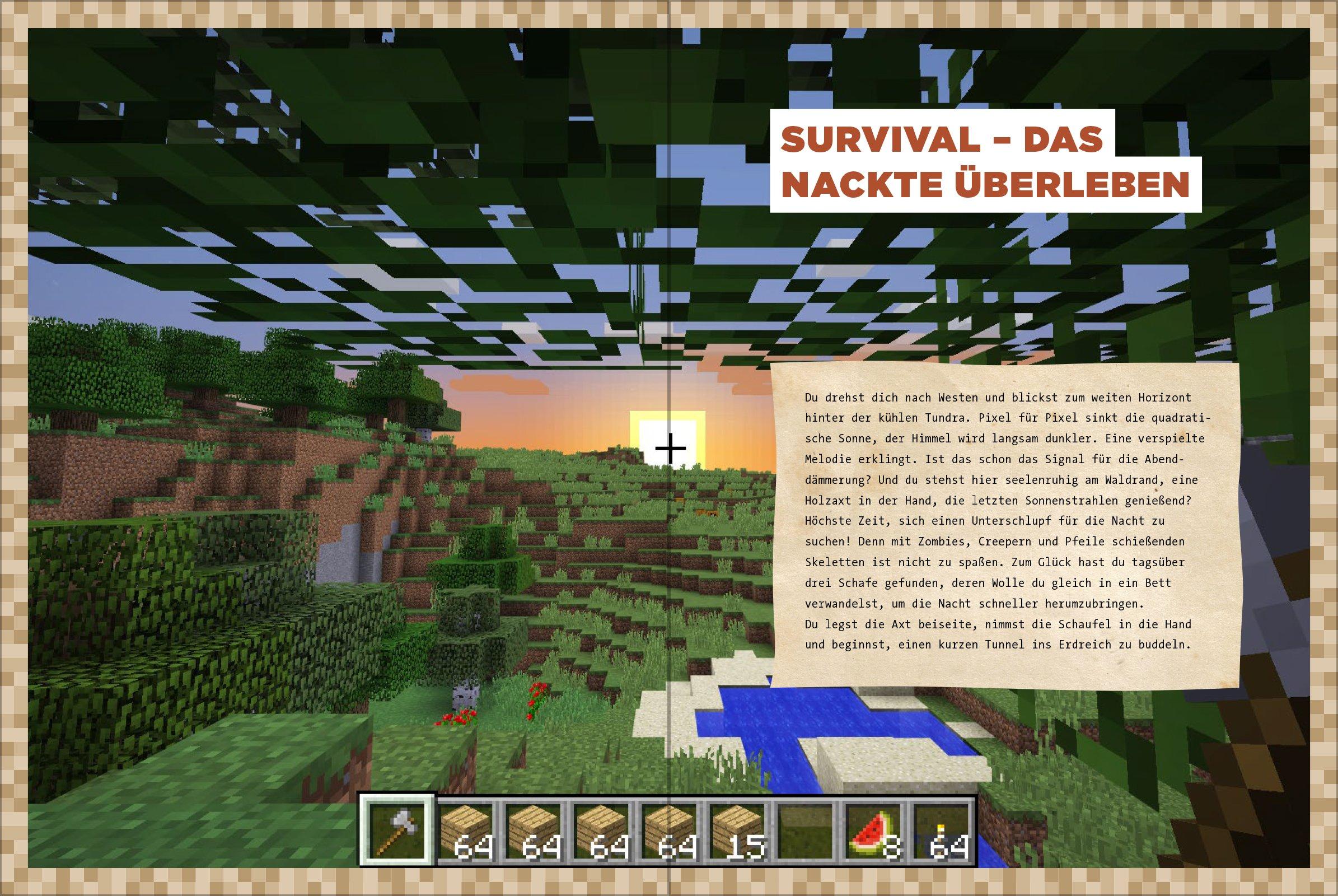 Dein SurvivalBuch Das Training Für Minecrafter Craften Bauen - Minecraft haus bauen fur profis