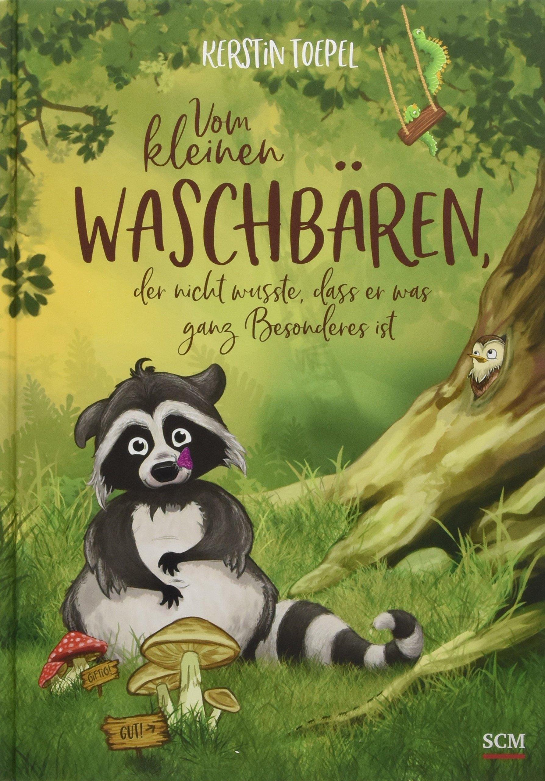 Vom Kleinen Waschbären Der Nicht Wusste Dass Er Was Ganz Besonderes Ist  Bilderbücher Für 3  Bis 6 Jährige