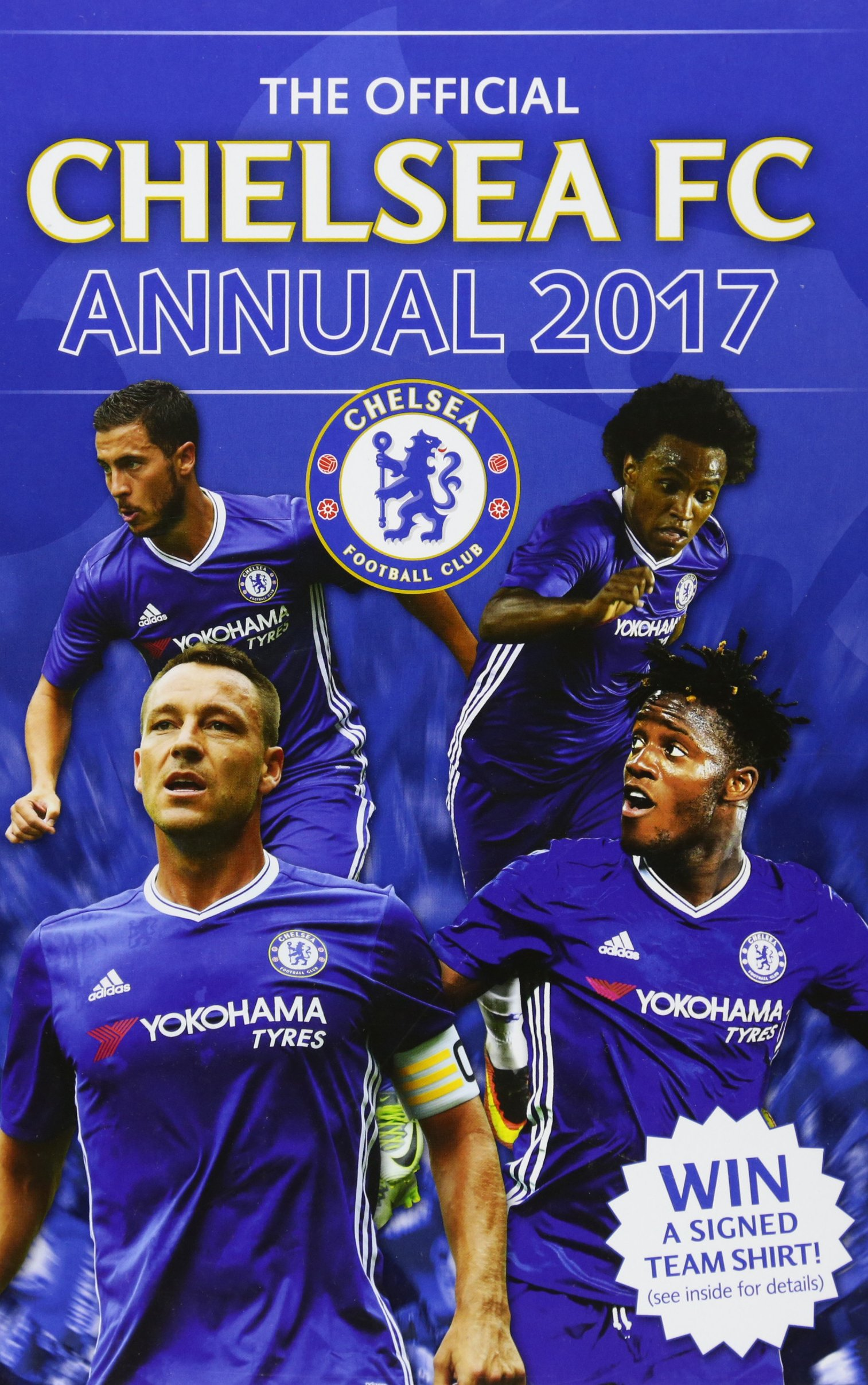 The Official Chelsea Annual 2017
