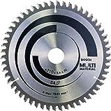 Bosch 2608640511 Lama Circolare Multi-Material, 210 x 30, 54D