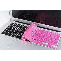 Lenfech Cubre Teclado para MacBook 2012 - 2015 Pro 13 y 15, Air 13/ Retina 15 y Mac Book 2010 - 2017 Air 13. Protector de Teclado en Español de Silicón / Silicona. Protege de Líquidos, Suciedad, Comida y Polvo! Disponible en 13 Colores. (Rosa)