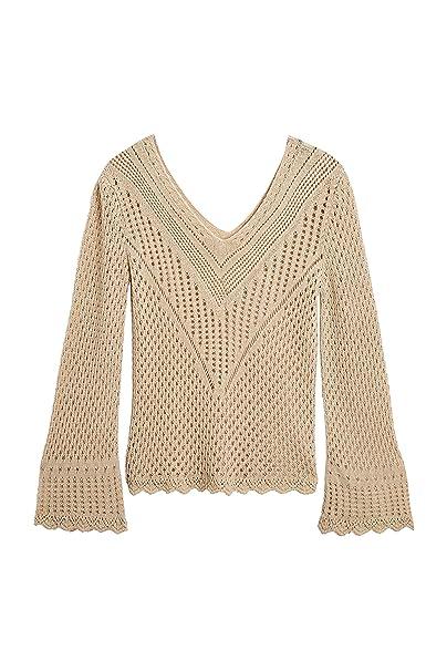 Next Donna Maglia Alluncinetto Neutrale Xs Amazonit Abbigliamento