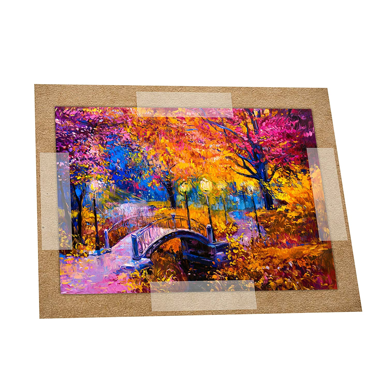 SEE THRU MOUNT STRIPS 1.25INX 4IN 60CT (1 pack) USE FOR MOUNTING ARTWORK OR PHOTOS TO MATS SAFELY AND EASILY by Better Crafts