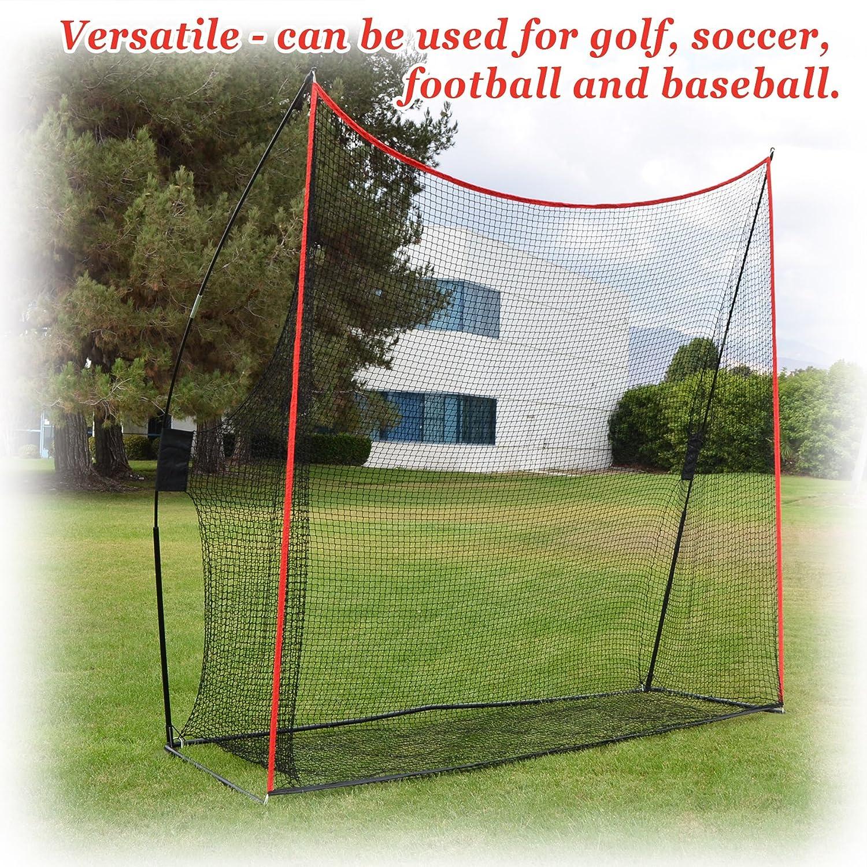 amazon com strong camel portable 10 u0027x9 u0027x3 u0027 golf net practice