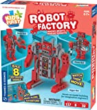 Thames & Kosmos Kids First Robot Factory: Wacky, Misfit, Rogue Robots STEM Experiment Kit | Hands-on Model Building for…