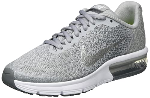 2ee6f0753f8f Nike Girls Air Max Sequent 2 (Gs) Competition Running Shoes  Amazon ...