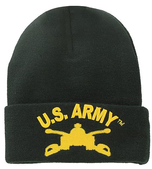US Military Beanie U.S Army Official Licensed Headwear Black at ... 83ba3ec35fe