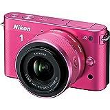 Nikon 1 J2 10.1 MP HD Digital Camera with 10-30mm VR Lens (Pink)