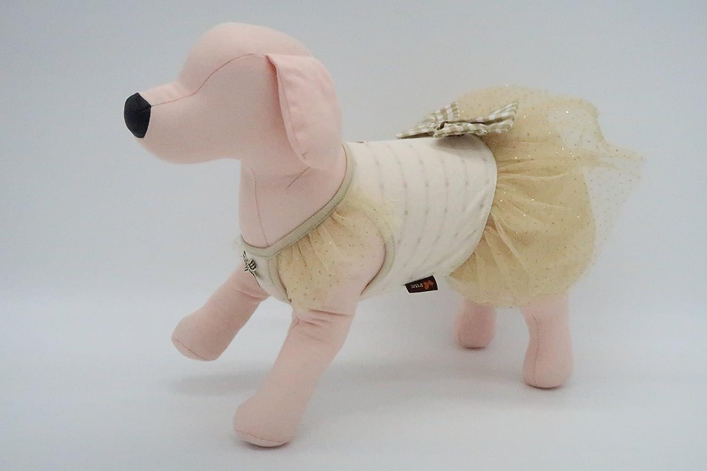 It's dog (ITS DOG) dog clothes Organic Cape Chou dress SM