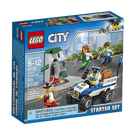 Amazon.com: LEGO City Police Police Starter Set 60136 Building Kit ...