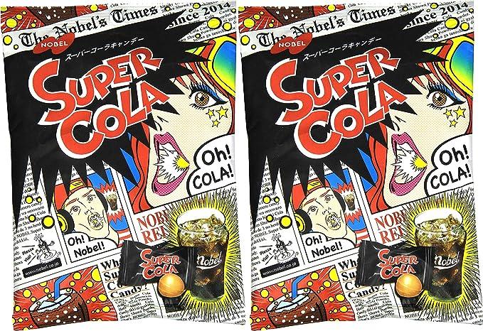 Nobel Super Soda/lemon/cola Candy, 3.1-ounce Bags (Pack of 2) [Japan Import] - Sour and Fizzy Tastes (Cola): Amazon.es: Alimentación y bebidas