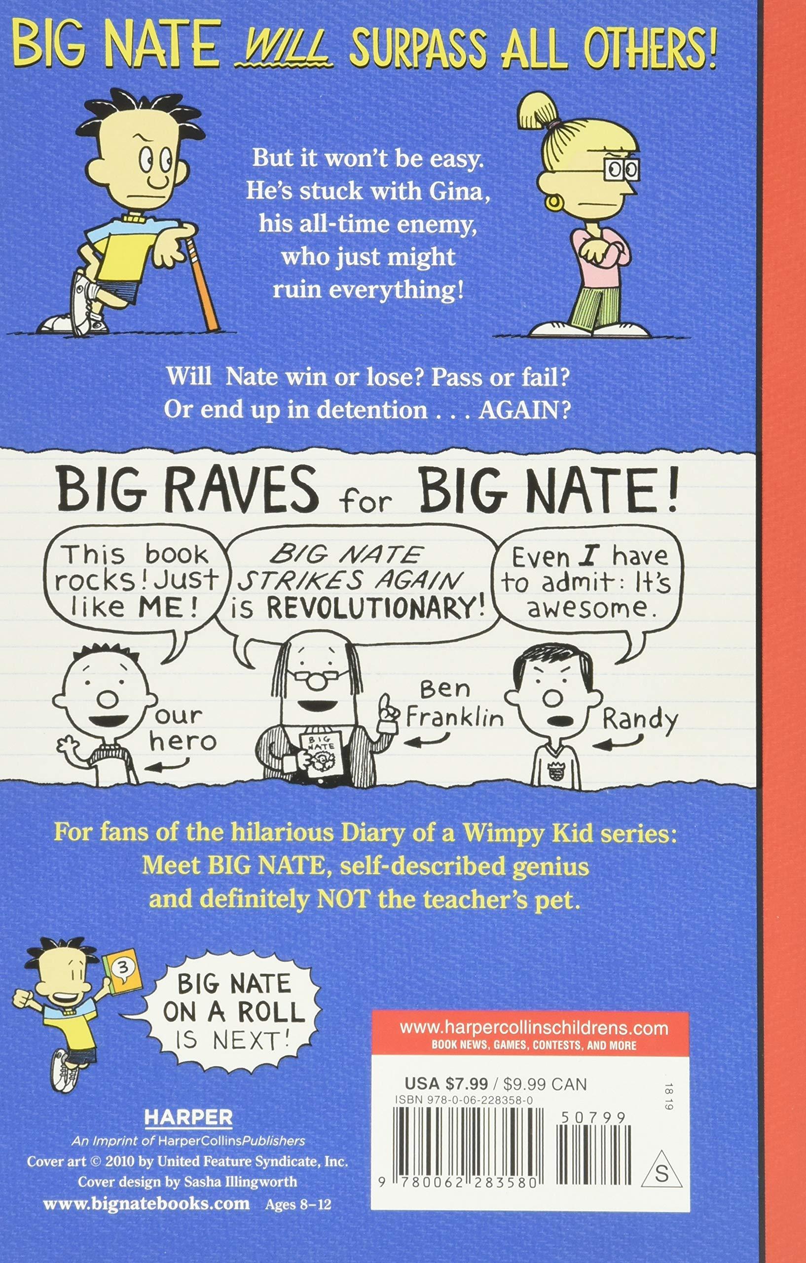Big Nate Strikes Again Big Nate Novels 2 By Lincoln Peirce