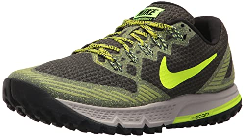 78f7ad5ead385 Nike Men s Air Zoom Wildhorse 3 Sequoia Volt Bright Cactus Running Shoe 13  Men