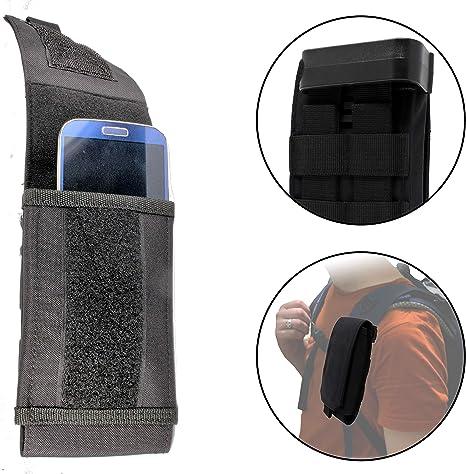 Clakit Bolsillo para Smartphone - Correa Ajustable - Clip - Extra Grande Negro: Amazon.es: Deportes y aire libre