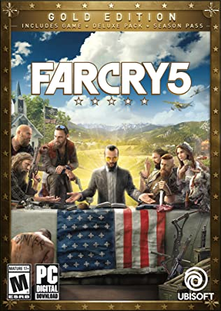 Amazon Com Far Cry 5 Gold Edition Online Game Code Video Games