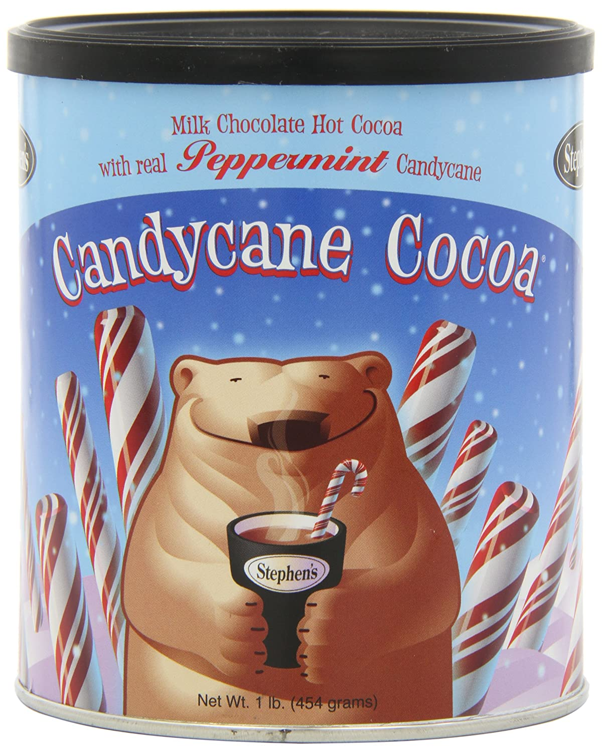 Amazon.com : Stephen's Gourmet Hot Cocoa, Candycane Cocoa, 16 ...