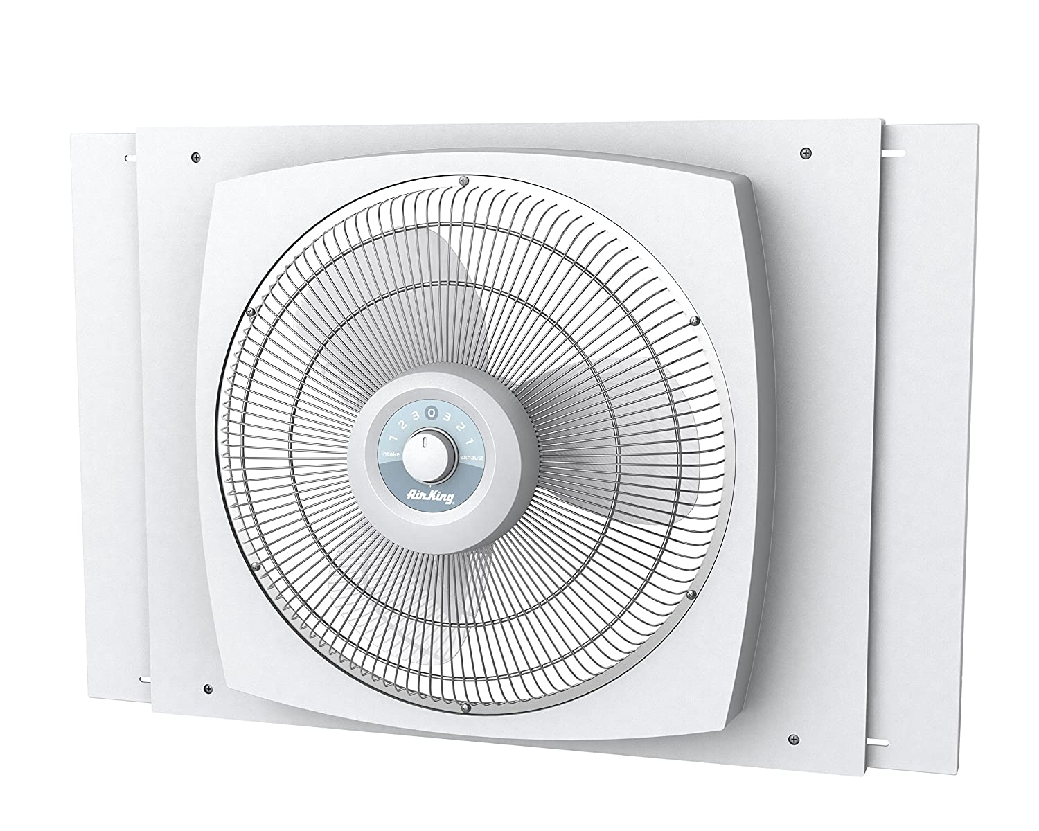 Air King 9155 Storm Guard Window Fan, 16-Inch