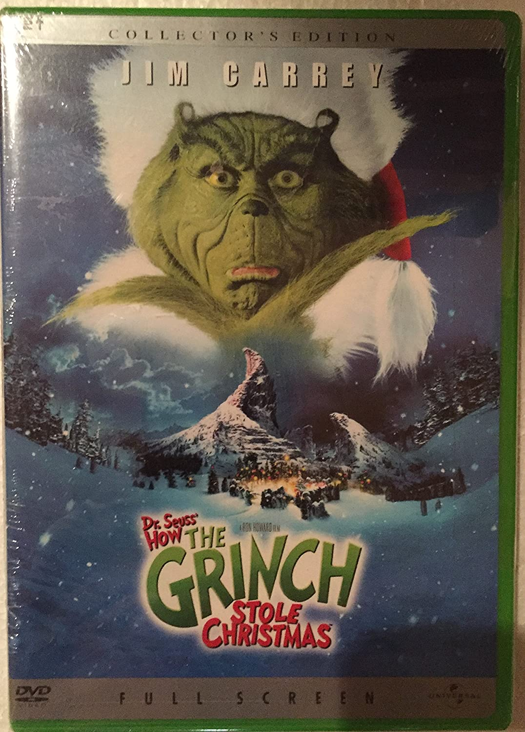 amazoncom dr seuss how the grinch stole christmas collectors full screen edition jim carrey ron howard jeffery tambor anthony hopkins - How The Grinch Stole Christmas 2014