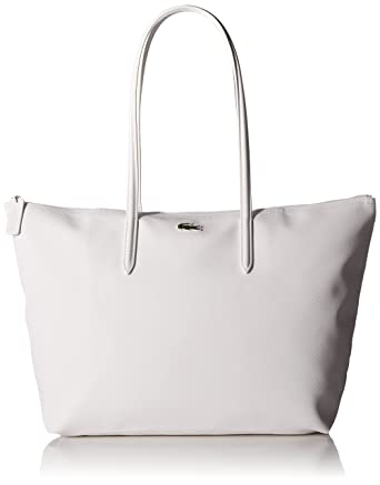 da63fa21277 Amazon.com: Lacoste L.12.12 Concept Large Shopping Bag, NF1888PO: Clothing
