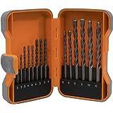 Steinbohrer Set–15Stück Kit in Aufbewahrungsbox aus Kunststoff