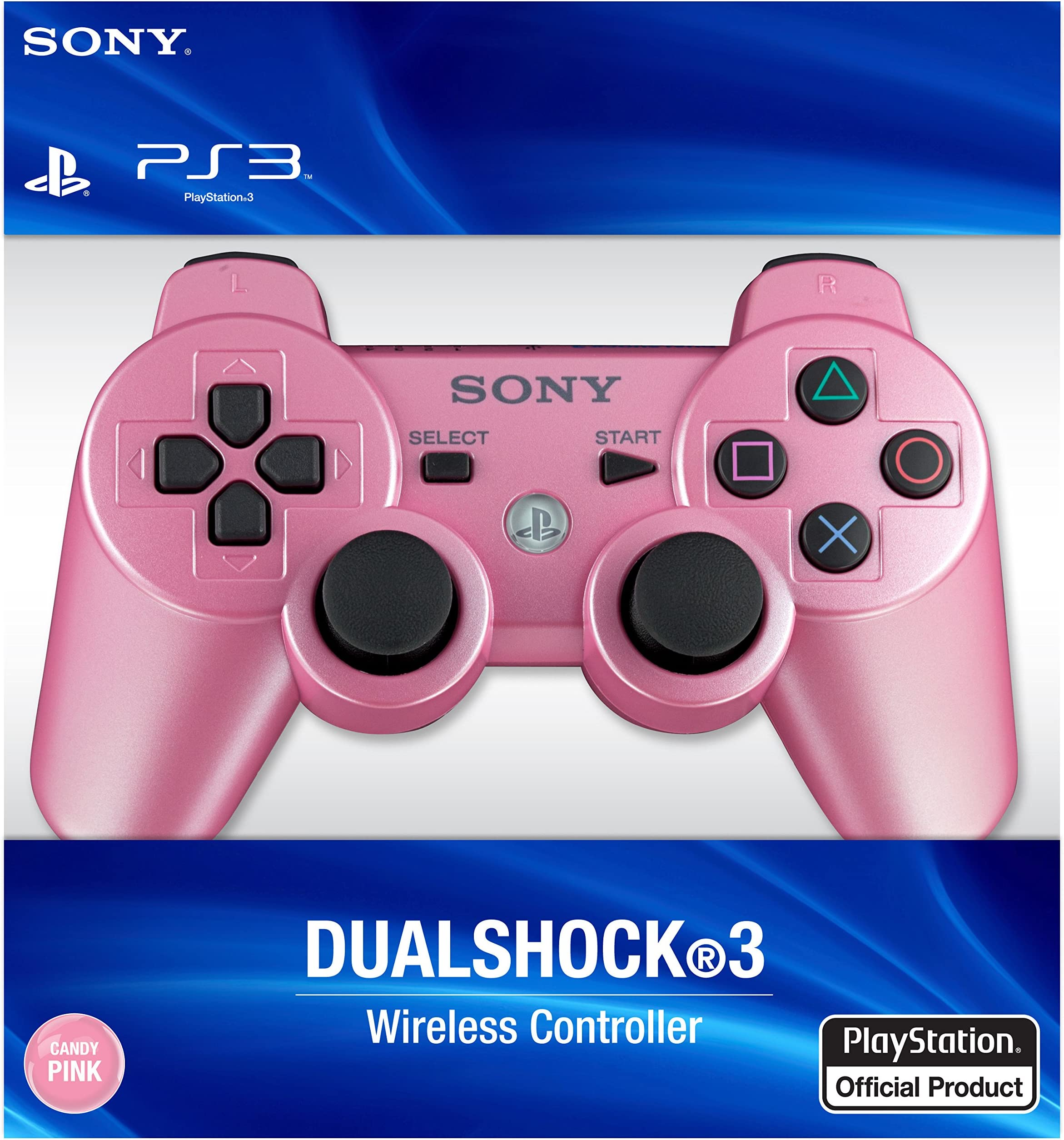 Amazon.com: PlayStation 3 Dualshock 3 Wireless Controller (Candy ...