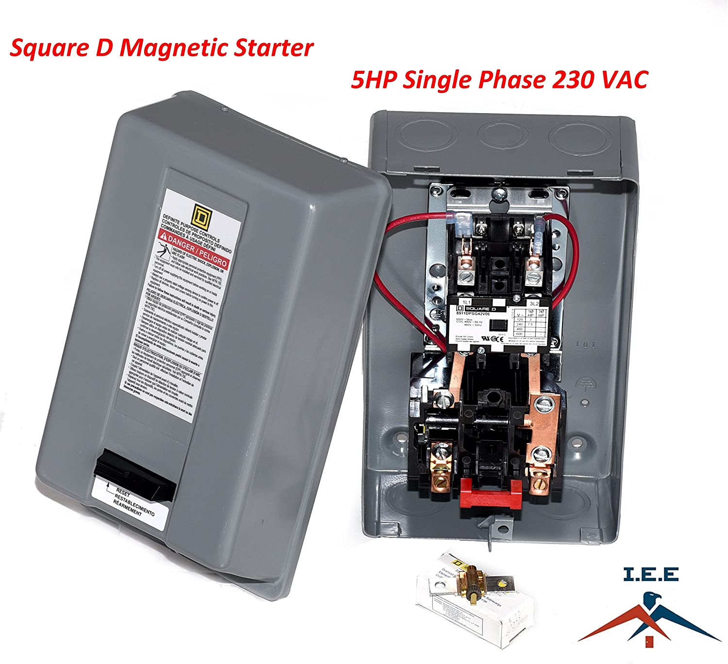 square d safety switch wiring diagram motor starter 5hp 1ph 230v definite purpose magnetic motor starter  motor starter 5hp 1ph 230v definite