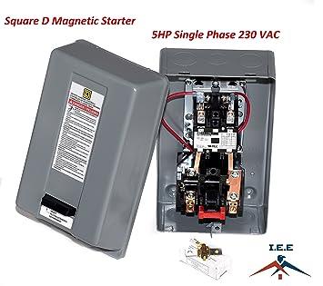 Single Phase Magnetic Motor Starter - Wiring Diagram Data on