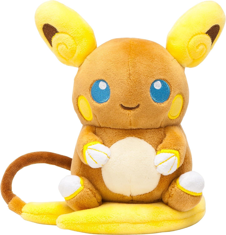 B06XXC484X Pokemon Center Original Pokemon Plush Doll Alola Raichu (Pokemon Sun and Moon) 915-cSACckL.SL1500_
