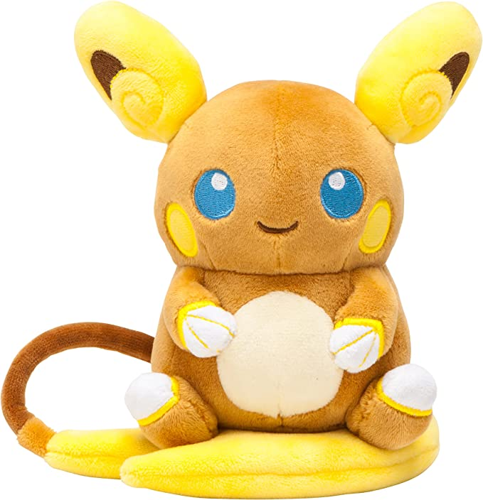 Pokemon Center Original Pokemon Plush Doll Alola Raichu (Pokemon Sun and Moon)