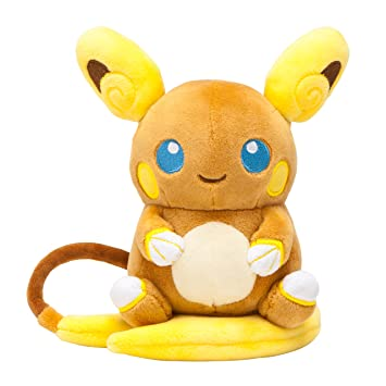 Pokemon Center Original Pokemon Peluche Alolan Raichu (Arora Reichu) (Japan Import)