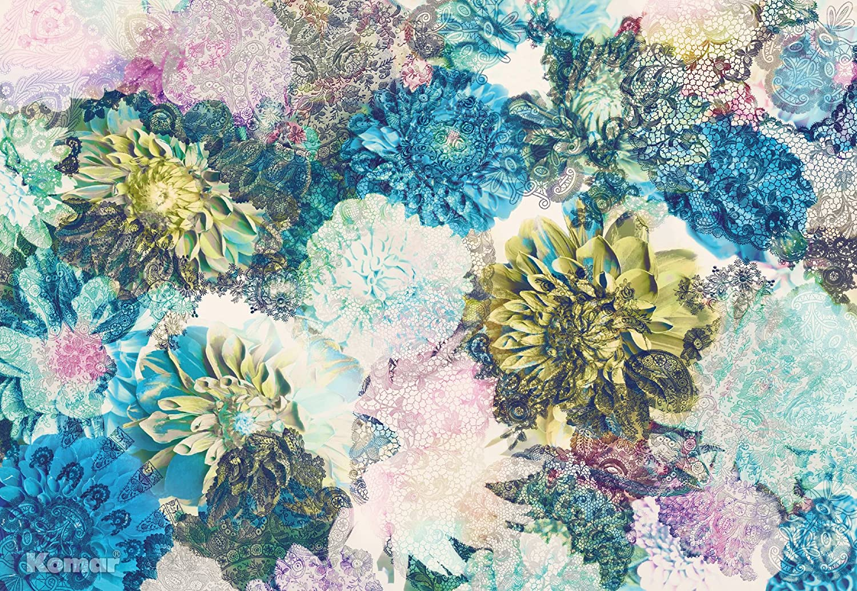 Komar 8 941 Frisky Flowers Wall Mural