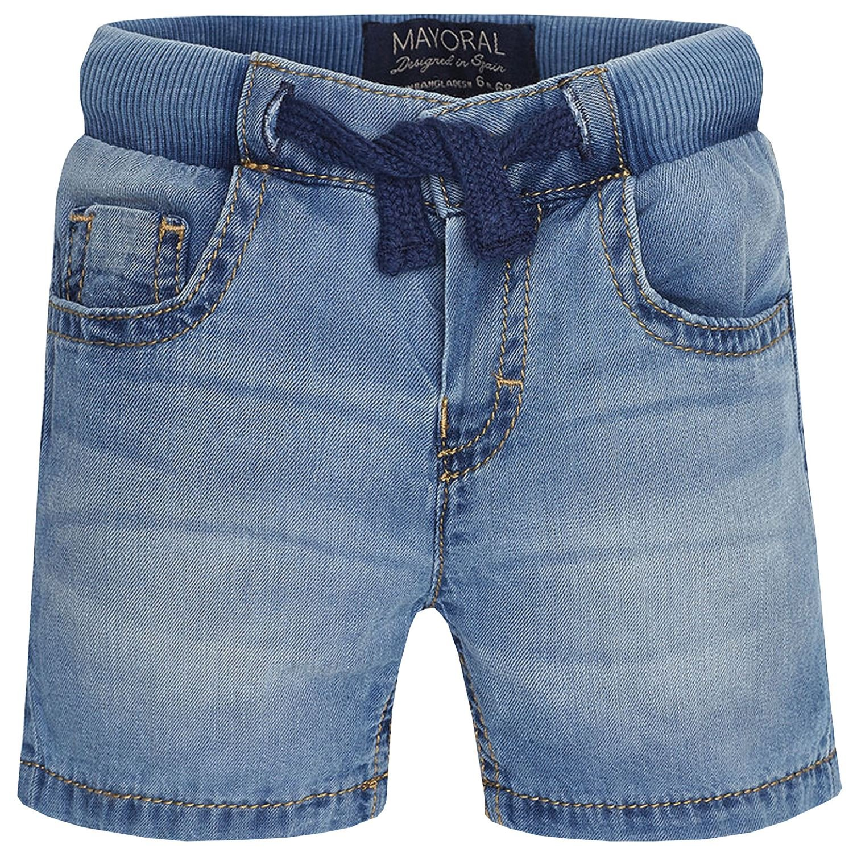 Mayoral - Kurze Baby-Jeanshose Jungen Bermuda. Jeansblau - 203