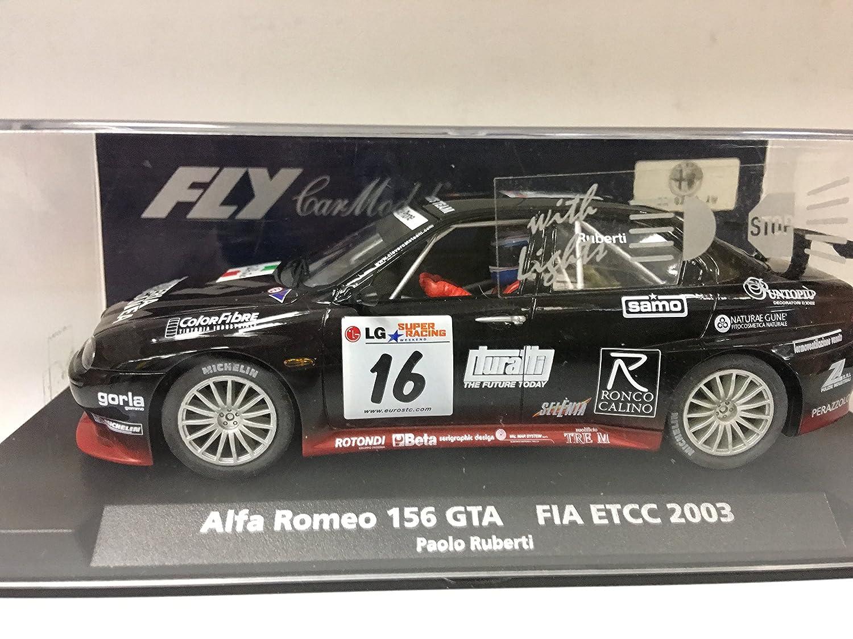 100% precio garantizado FLy Slot Coche Scalextric 99015 99015 99015 Alfa Romeo 156 GTA Fia ETCC '03 P. Ruberti A-785L  marca famosa