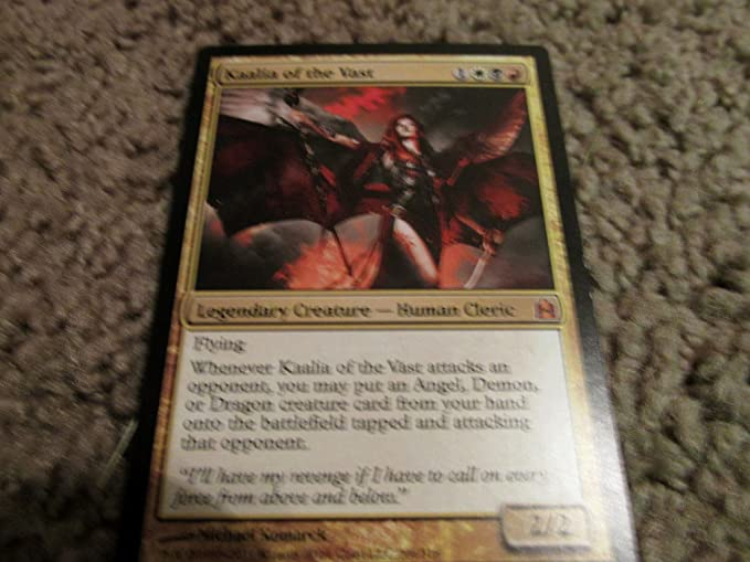 Magic: the Gathering - Kaalia of the Vast - Commander by Magic: the Gathering: Amazon.es: Juguetes y juegos