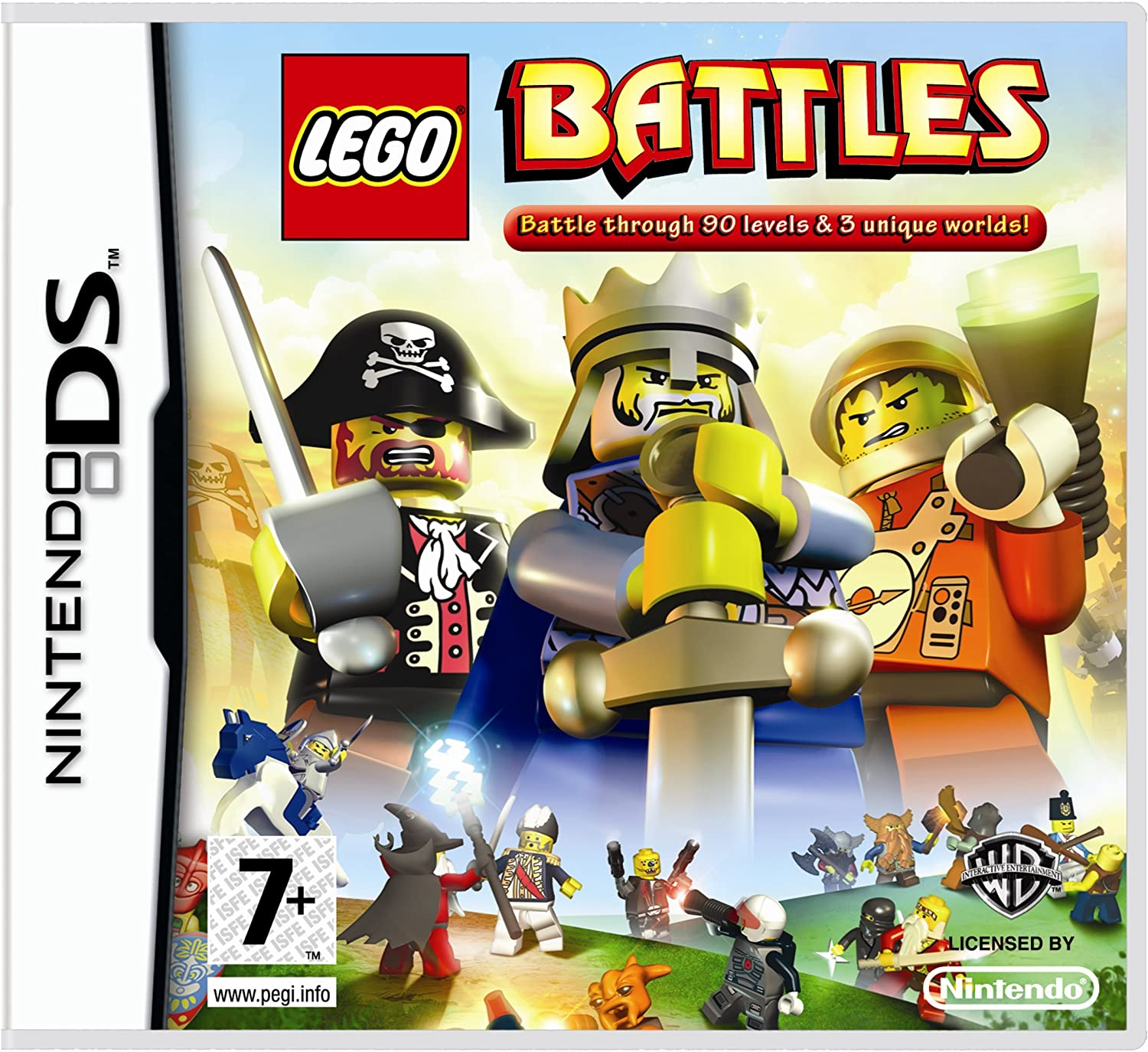 Lego Battles (Nintendo DS) [Import UK]: Amazon.es: Electrónica