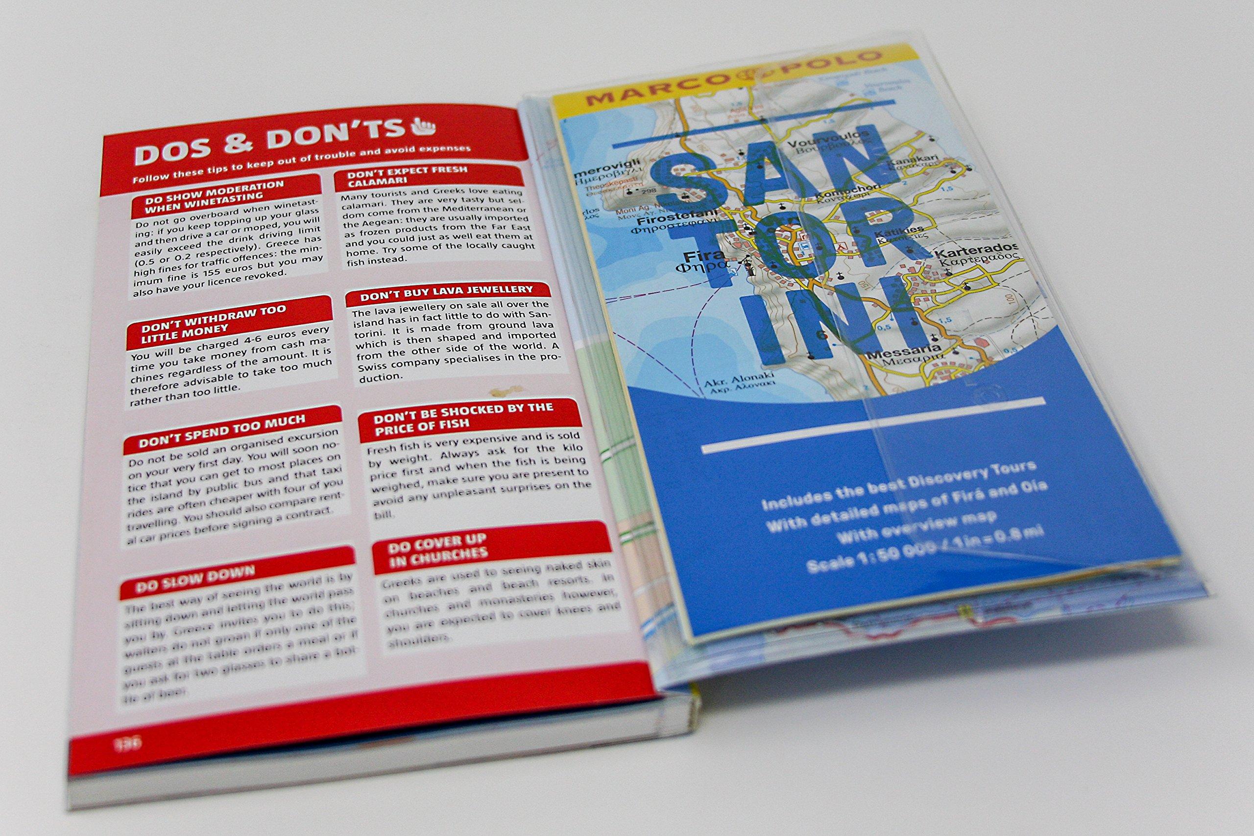 Santorini Marco Polo Pocket Guide Travel Publishing 9783829707831 Amazon Books