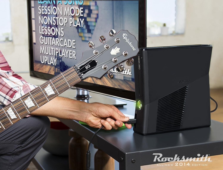 Rocksmith Edition 2014 + Guitare [Importación Francesa]: Amazon.es: Videojuegos