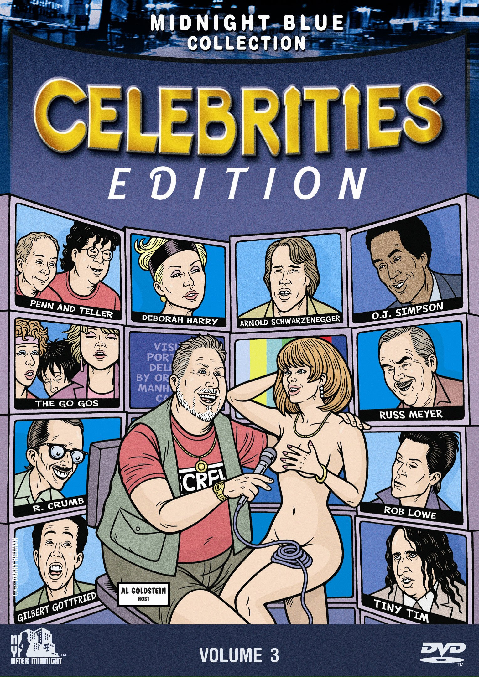 Midnight Blue Collection Volume 3: Celebrities Edition