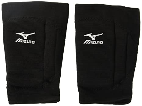 fe0beb739df9 Amazon.com : Mizuno T10 Plus Kneepad, One Size, Black : Sports ...
