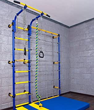 Home gym swedish wall playground set for schools kids room comet