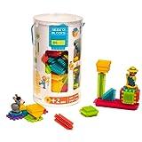 Seek'o Blocks Jeu de Construction 1er âge Multicolore - Tube 80 Pièces avec personnages Ferme - BA3002